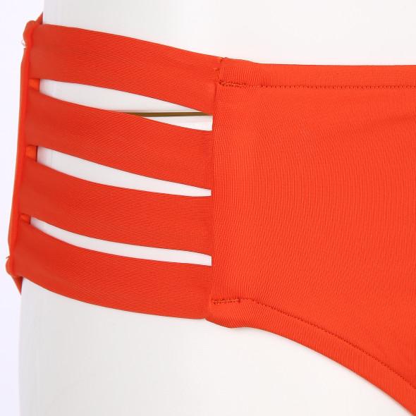 Damen Seafolly Bikinihose mit seitlichen Riegeln