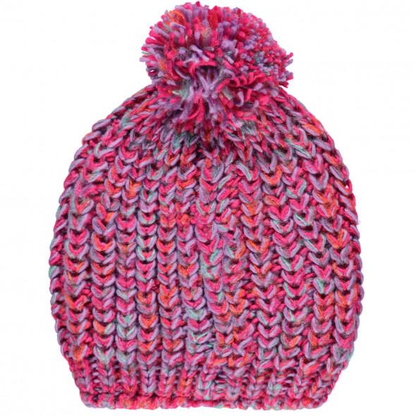 Mädchen Mütze mit Bommel