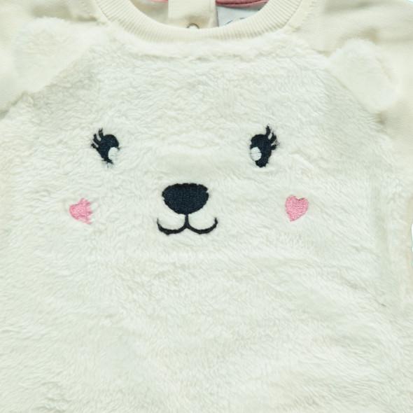 Baby Sweatshirt mit Bärchenmotiv