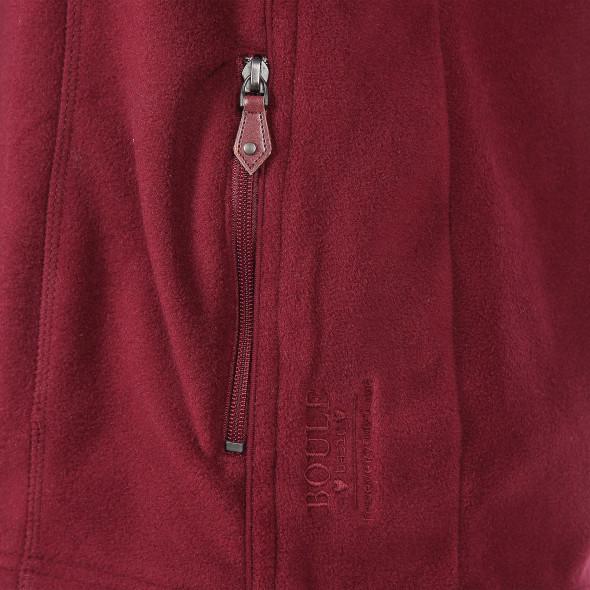 Damen Fleece Weste mit Reißverschluss