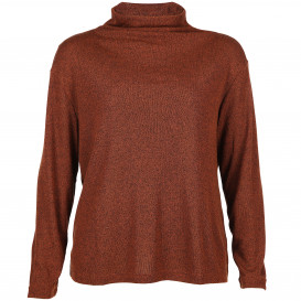 Große Größen Sweatshirt mit Stehkragen