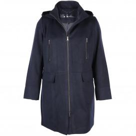 Große Größen Mantel mit Kapuze