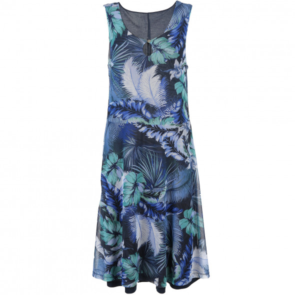Damen Kleid mit effektvollem Print