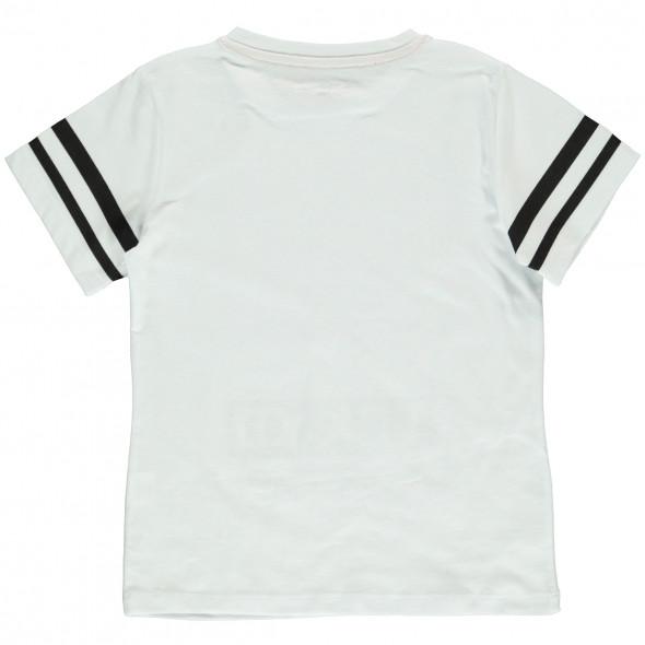 Jungen Shirt mit Wende-Pailletten