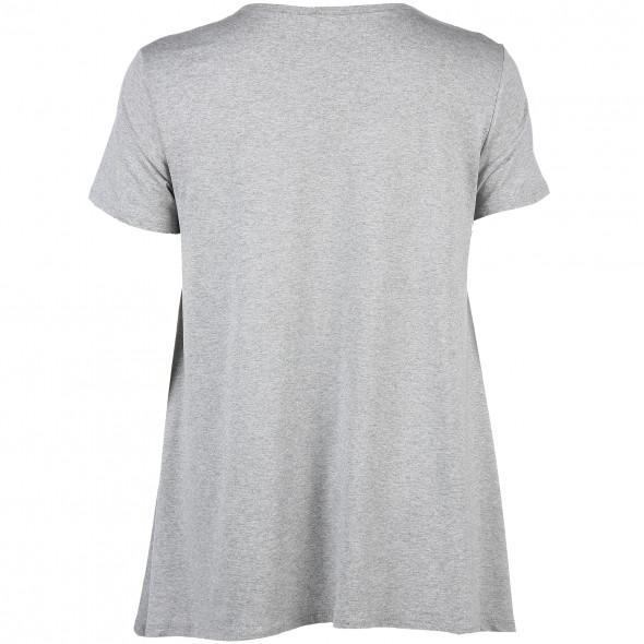 Große Größen Shirt mit Pailletten