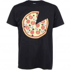 Herren T-Shirt mit Pizzadruck