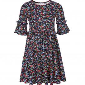 Mädchen Kleid im Blümchen Allover Print