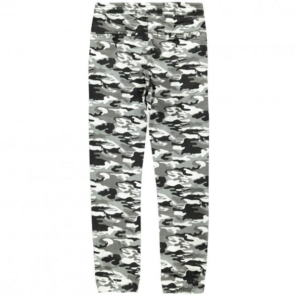 Jungen Hose mit Gummizugbund im Camouflage Look