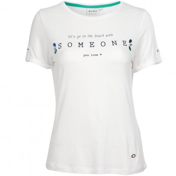 Damen Shirt mit hübschen Schmucksteinen