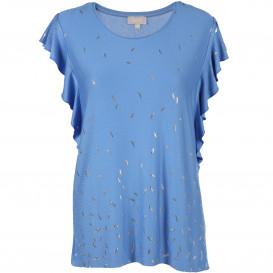 Damen Shirt mit Glitzer Print