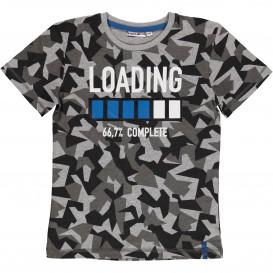 Jungen Shirt im Camouflage Dessin