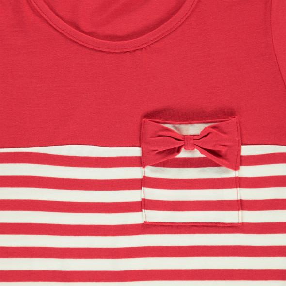 Mädchen T-Shirt mit hübscher Brusttasche