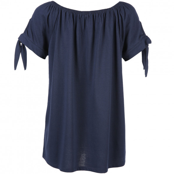 Damen T-Shirt mit Carmen Ausschnitt