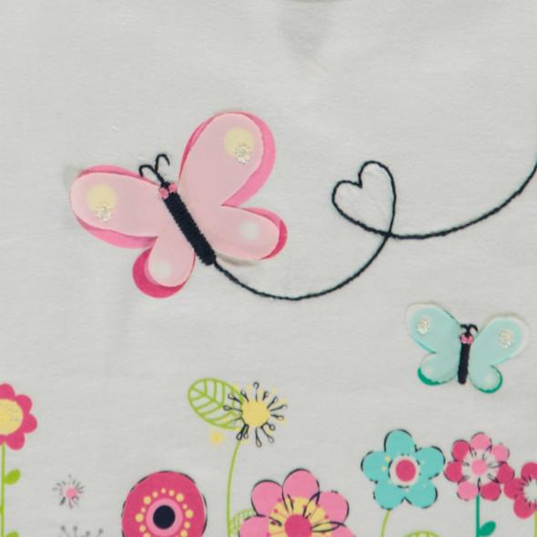 Baby Mädchen Shirt mit hübschem Print