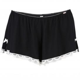 Damen Shorts mit Spitzenbesatz