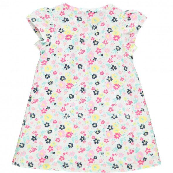 Baby Mädchen Kleid mit Allover Blumenprint