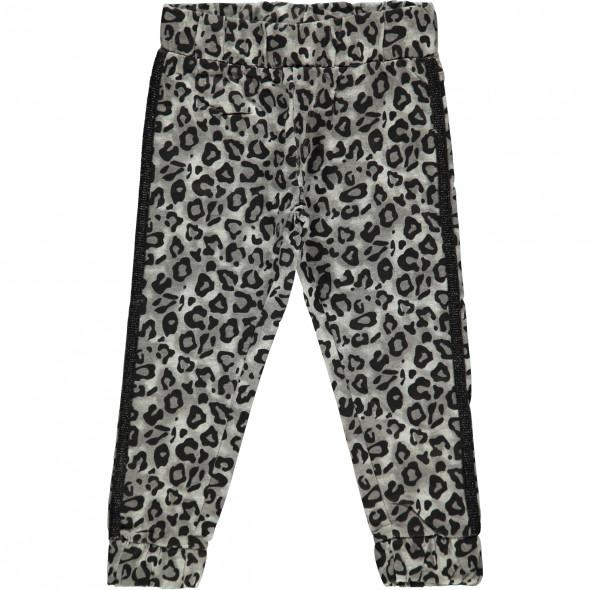 Mädchen Jogging Hose mit Leopardenmuster