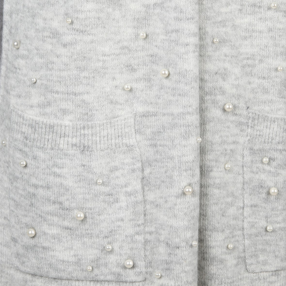Damen Cardigan mit Perlen