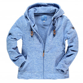 Damen Fleece Sweatjacke
