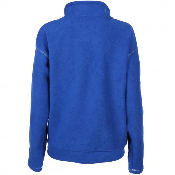 Damen Fleece Pullover mit Stehkragen