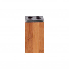 Zahnbürstenhalter aus Bambus
