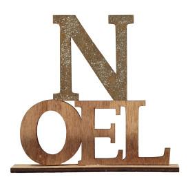 Dekoaufsteller Schriftzug Noel
