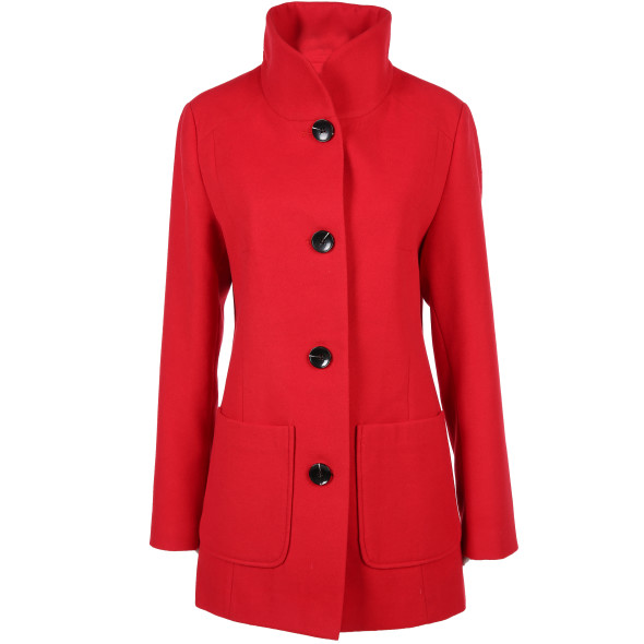 Damen Mantel in Wolloptik