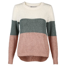 Only ONLGEENA L/S BLOCK PU Strickpullover