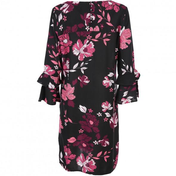 Damen Kleid mit Allover Print
