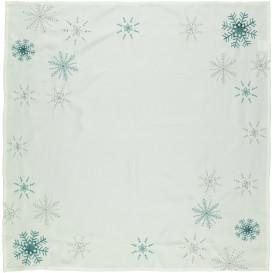 Mitteldecke mit weihnachtlicher Stickerei 85x85cm