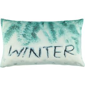Kissenhülle mit winterlichem Motiv 30x50cm