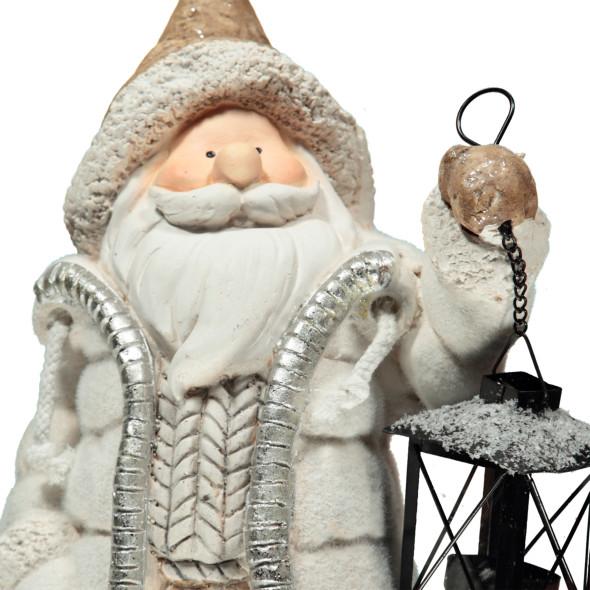 Magnesia Santa mit Laterne