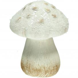 Deko-Pilz aus Keramik 10cm hoch