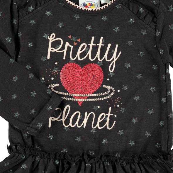 Baby Mädchen  Kleid mit Rüschchen