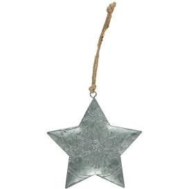 Weihnachts Stern aus Metall 13cm