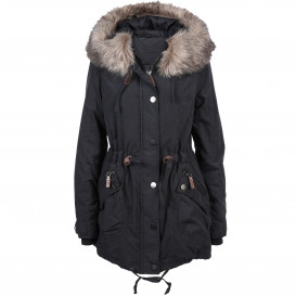 Damen Parka in langer Form