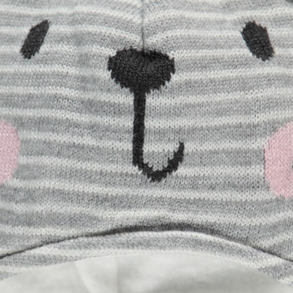 Baby Mütze mit Öhrchen