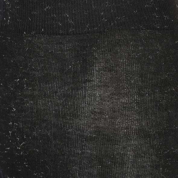 Damen Strumpfhose mit Silbergarn