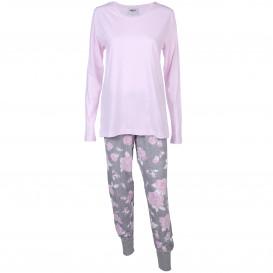 Damen Pyjama gemustert