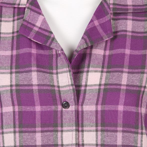 Damen Bigshirt aus weichem Flanell