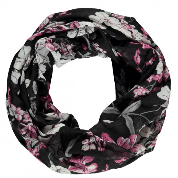 Damen Loop mit Blumenprint