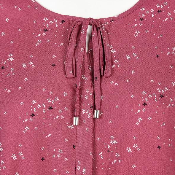 Damen Bluse mit Blumenmuster