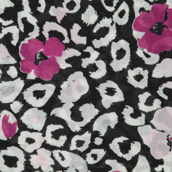 Damen Loop mit Blumendessin