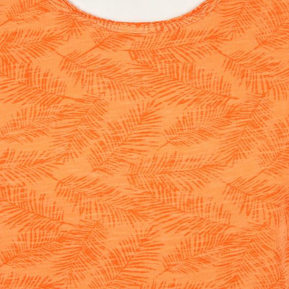 Herren T-Shirt im Blätterprint