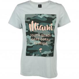 Herren Shirt mit Camouflage Print