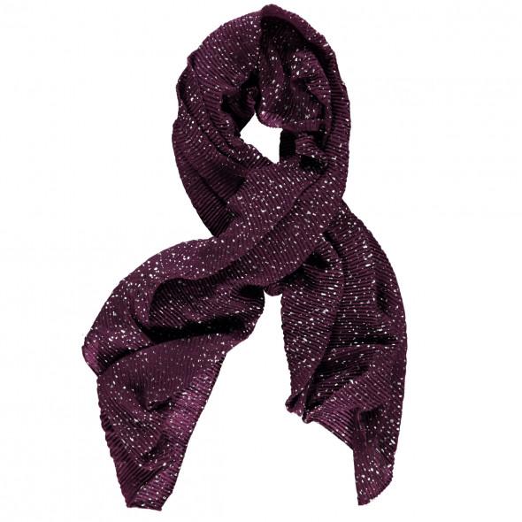 Damen Plisseé Schal