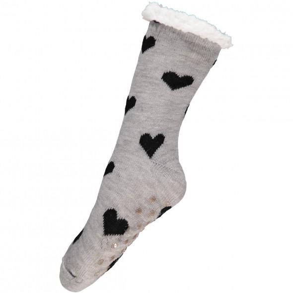 Damen Socken mit Flauschinnenseite