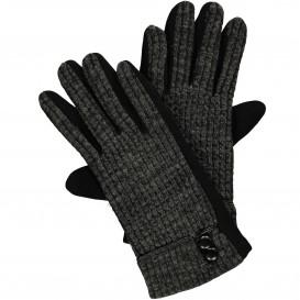Damen Handschuhe mit Knöpfen