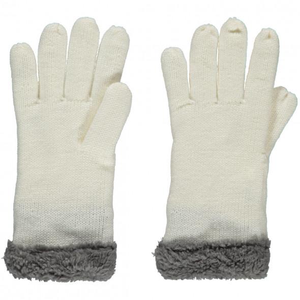 Damen Handschuhe mit Teddyfutter