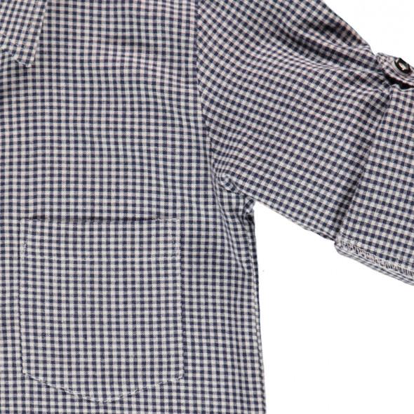 Jungen Trachtenhemd in Vichy-Karo